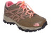 The North Face Hedgehog Hiker Waterproof Schoenen roze/bruin